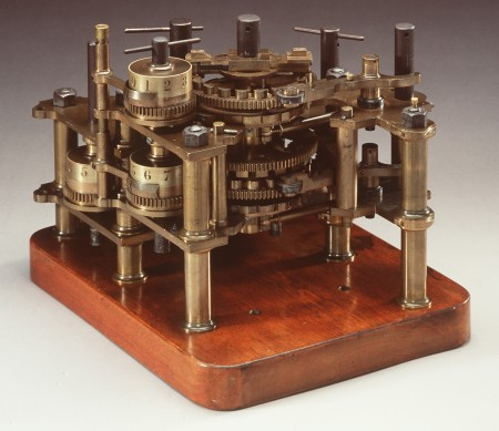 Part from Babbage's Difference Engine