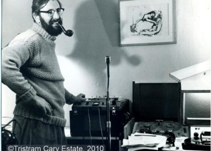 Cary in his Earl's Court living room/studio