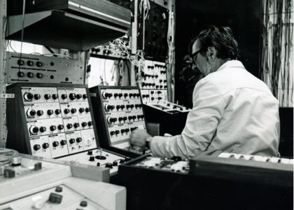 Cary in his Fressingfield studio