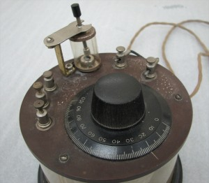 Crystal set radio receiver