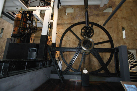 Boulton and Watt engine in the Museum, Object No 18432. Collection: Powerhouse Museum