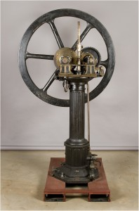 19th Century Otto-Langen vertical free piston atmospheric gas engine