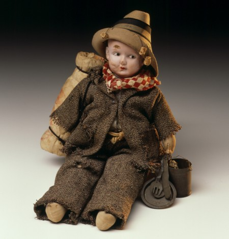 Doll dressed as a swagman