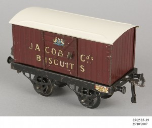 Jacob & Co's Biscuits train model