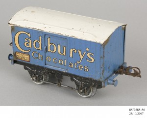 Cadburys Chocolate Van Model Train