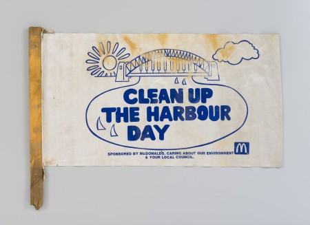 Clean up the Harbor Flag