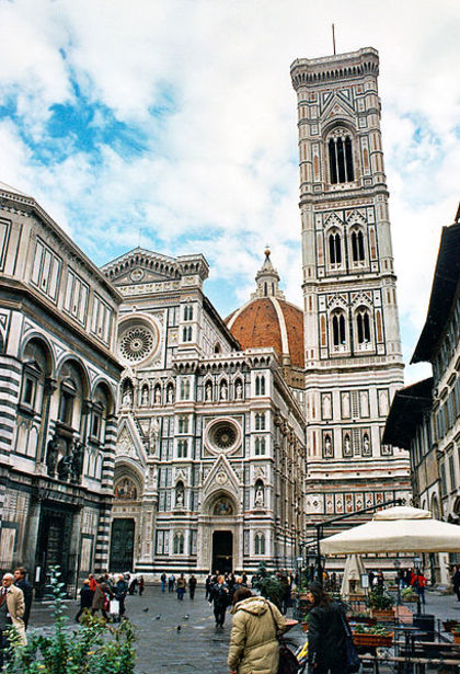 Photo of the historic Duomo in Florance, Italy