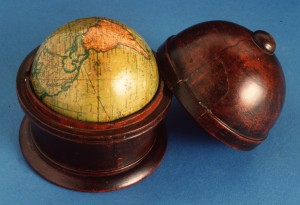 Terrestrial globe based on Mercator's projection