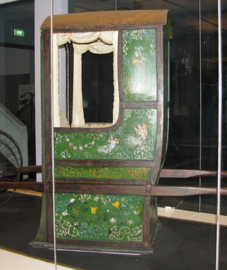 Green Sedan Chair