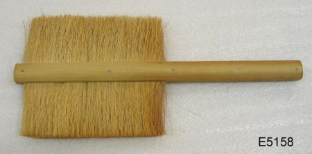 Wooden bee brush