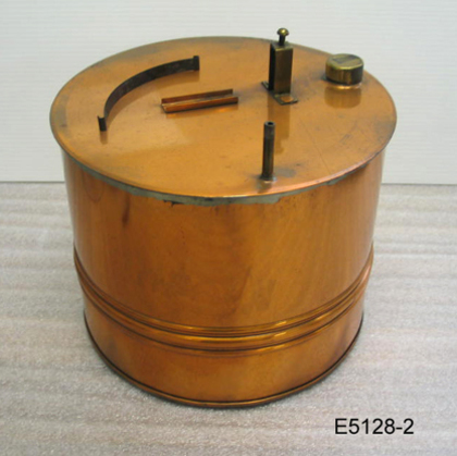 Boiler, used with steam-heated honey knife