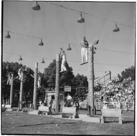 Wood chopping. Royal Easter Show 1964
