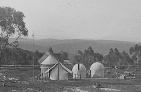 Transit of Venus camp and observatories 1874