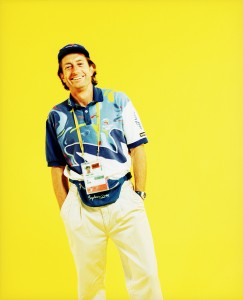 Sydney 2000 Olympic Games Terry Carr wearing his Games Force uniform