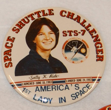 Space Shuttle Challenger STS-7 Badge, 1983