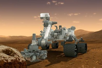 The Mars Science Laboratory rover, Curiosity