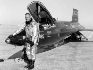 Armstrong and the X-15 hypersonic research aircraft