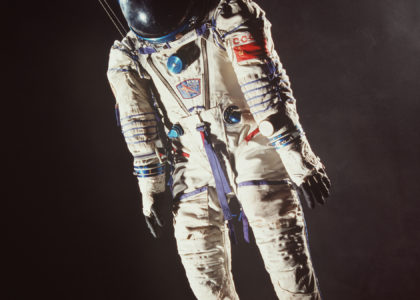 Photograph of Sokol KV-2 spacesuit
