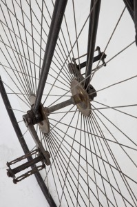 Detail of wheel