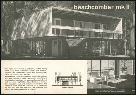 Beachcomber Mark 11 Lend Lease Homes brochure, 1964