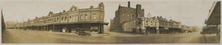 Corner of  Jones Street Broadway 1935