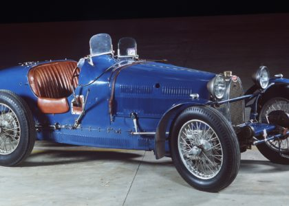 Type 37A Grand Prix Bugatti, designed and made by Ettore Bugatti, Molsheim, France, 1928. Powerhouse Museum collection, purchased 1985,  B2603.