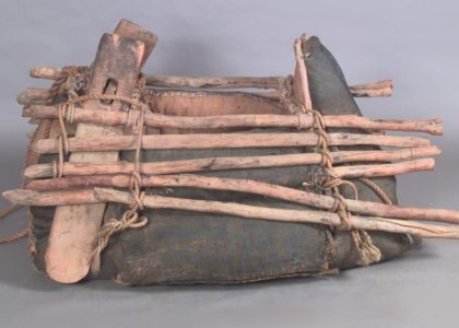 Camel pack saddle, Powerhouse Museum collection, purchased 1962, H6926.
