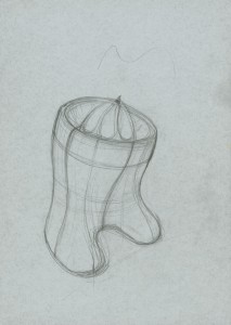 Concept sketch for the Breville 800 Class Citrus Press