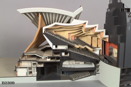 Utzon's design for Opera House major hall