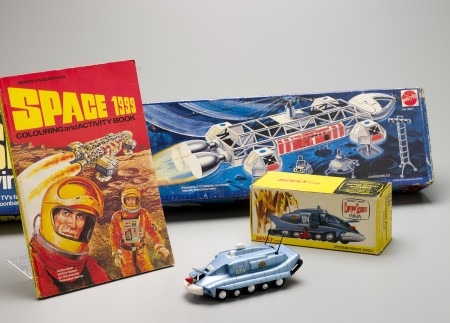 Anderson series merchandising, toy aircraft and publication.