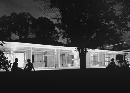Photograph Sydney Ancher house, Neutral Bay, 1958