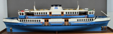 Model of the Sydney ferry, Lady Woodward, of 1970
