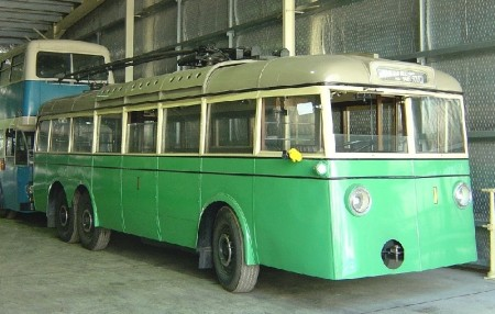 Photograph of Trolley bus No.1.