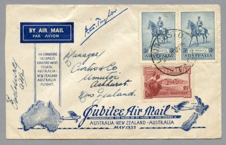 Photograph of Jubilee air mail flight