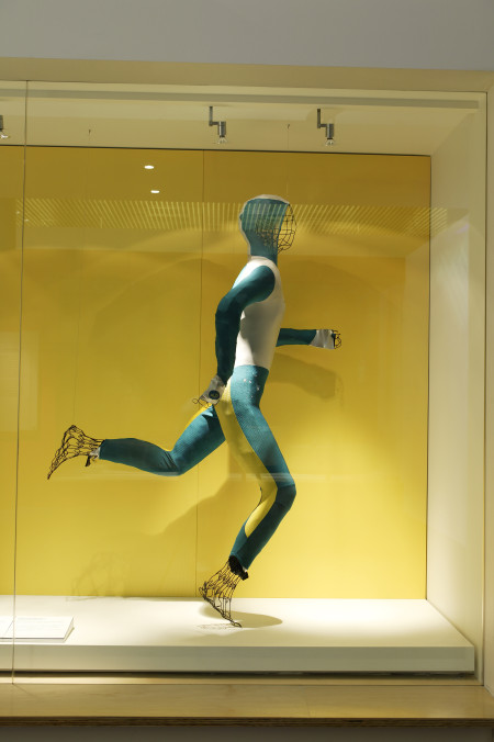 Photograph of Cathy Freeman's body suit