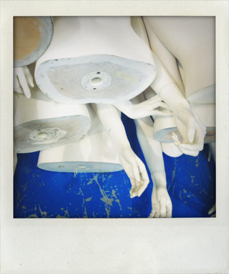 Photograph of mannequin parts