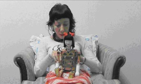Still from Kirsty Boyle's video Ningyo