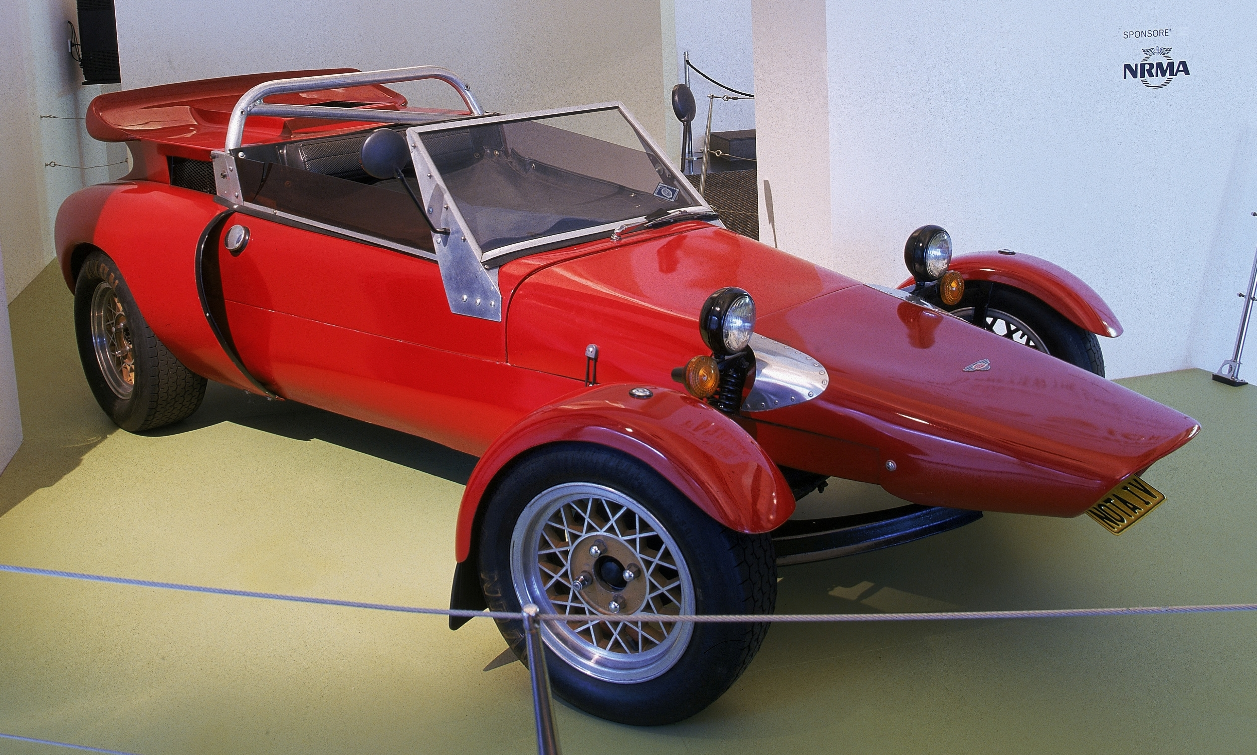 The Nota Fang – an Australian-made sports car – Inside the Collection