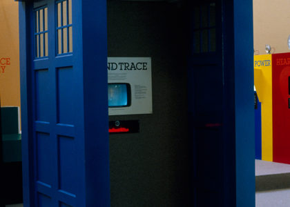 Photograph of TARDIS