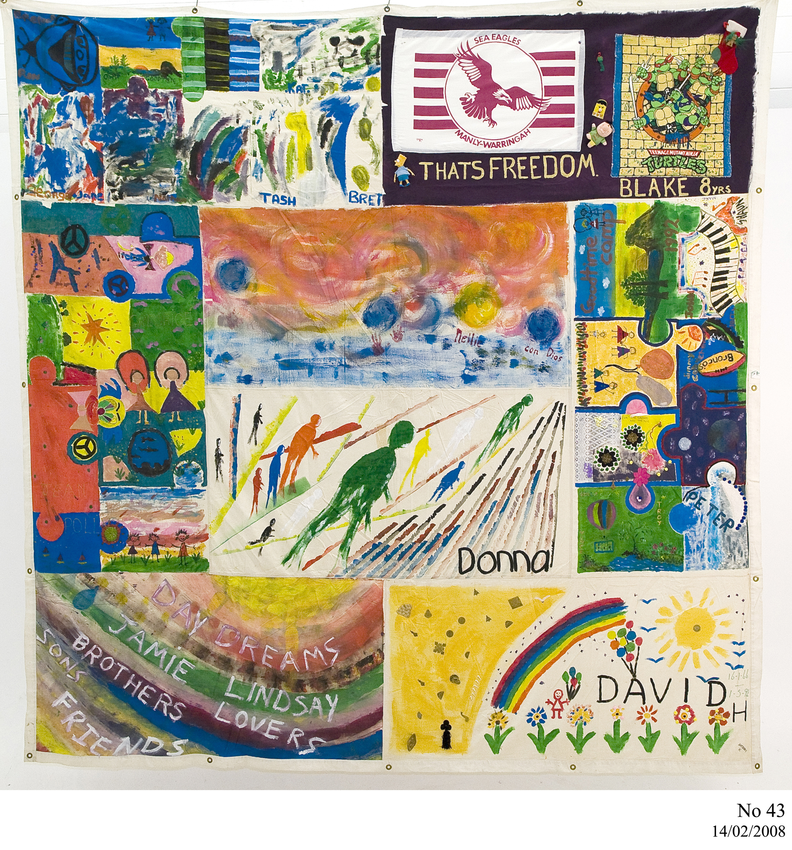World AIDS Day 2013 – Inside the Collection : world aids day quilt - Adamdwight.com