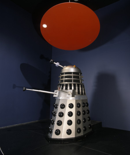 Photograph of original Dalek