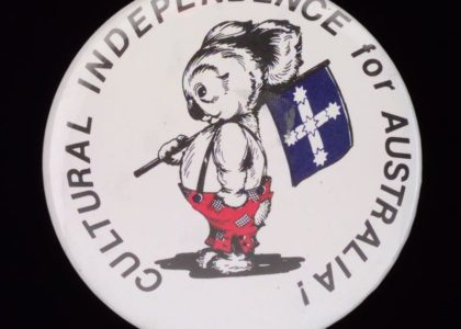 Badge in favour of Australian Republic 1994
