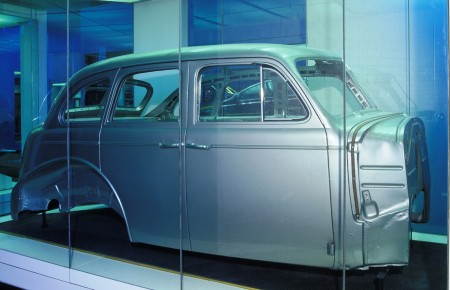 "A 1939 turret top all-steel ""Master"" sedan Chevrolet body"