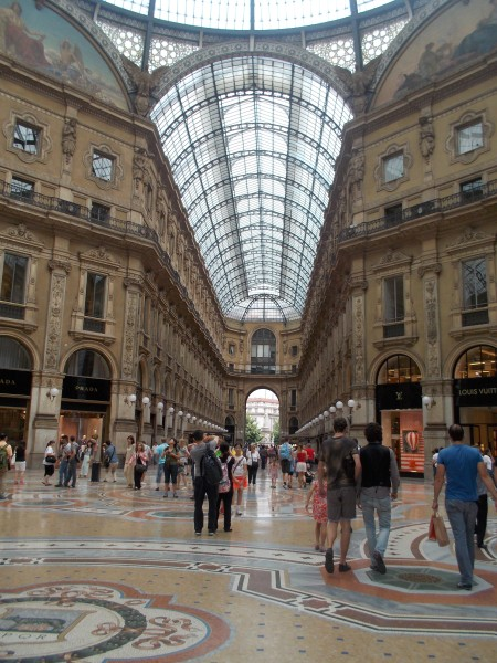 Photograph of Galleria Vittorio Emanuele, Milan