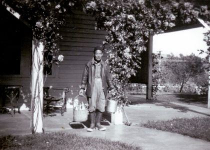 Photograph of Charlie Wong Hing at Clear Springs