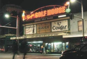 Photograph of Sharpies Golf House, Elizabeth Street