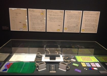 Photograph of Game Masters exhibition at the Powerhouse Museum