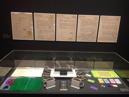 Magnavox Odyssey installed in the Game Masters exhibition at the Powerhouse Museum