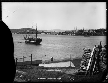 Photograph of Balmain from Cockatoo Island
