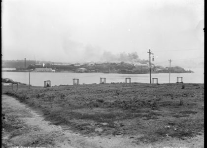 Photograph of Cockatoo Island', Kerry and Co, Sydney, Australia, c. 1884-1917